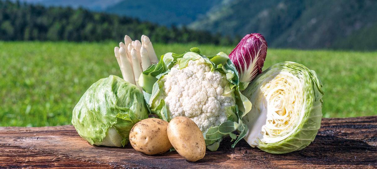 South Tyrolean vegetables