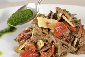 South Tyrolean beef salad